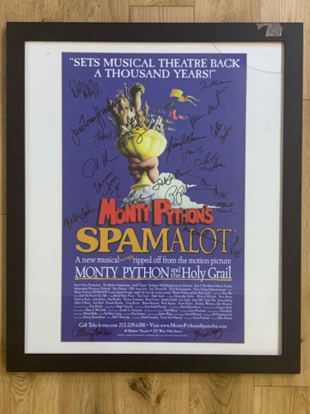 Spamalot Show Poster